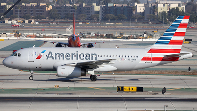 N824AW - Airbus A319-132 - American Airlines