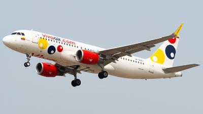 A picture of HK5307 - Airbus A320214 - Viva Air - © Diego Jara Ibarra