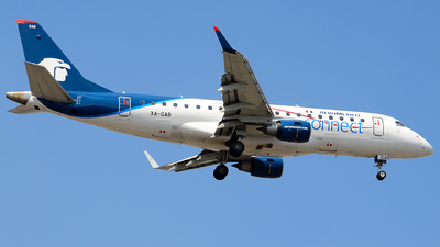 XA-GAB - Embraer 170-200LR - Aeroméxico Connect