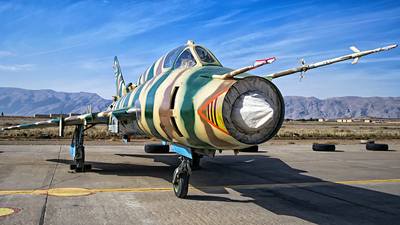 3-6905 - Sukhoi Su-22M4 Fitter K - Iran - Air Force