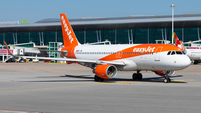 A picture of HBJXK - Airbus A320214 - easyJet - © Carlos Miguel Seabra