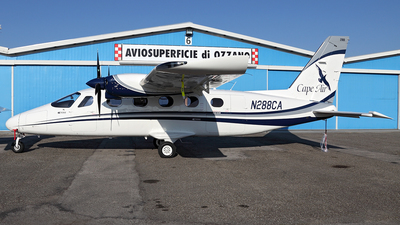 A picture of N288CA - Tecnam P2012 Traveller - Cape Air - © TOMBARELLI FEDERICO