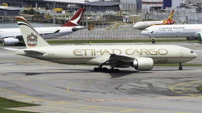A6-DDB - Boeing 777-FFX - Etihad Cargo