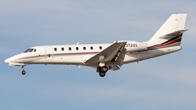 N372QS - Cessna 680 Citation Sovereign - NetJets Aviation