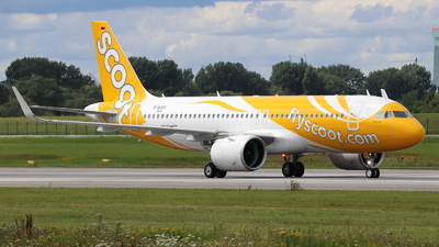 D-AUAX - Airbus A320-271N - Scoot