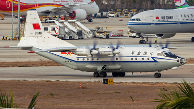 20146 - Shaanxi Y-8C - China - Air Force