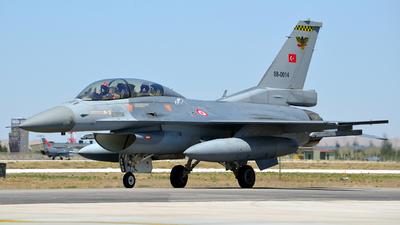 88-0014 - General Dynamics F-16D Fighting Falcon - Turkey - Air Force
