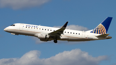 A picture of N80343 - Embraer E175LR - United Airlines - © Jeremy D. Dando