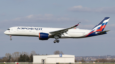 F-WZFN - Airbus A350-941 - Aeroflot
