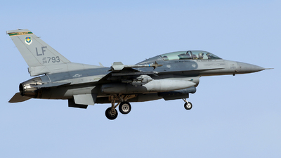 90-0793 - General Dynamics F-16D Fighting Falcon - United States - US Air Force (USAF)