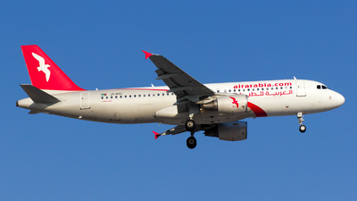 JY-PTC - Airbus A320-214 - Air Arabia Jordan