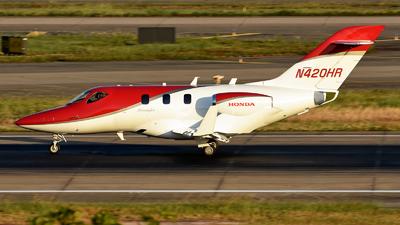 N420HR - Honda HA-420 HondaJet - Private