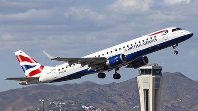 G-LCAD - Embraer 190-100SR - BA CityFlyer