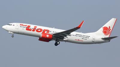 HS-LUK - Boeing 737-8GP - Thai Lion Air
