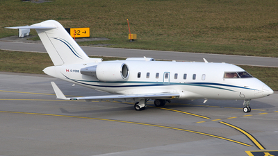 C-FCDE - Bombardier CL-600-2B16 Challenger 604 - Execaire