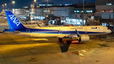 A picture of JA131A - Airbus A321272N - All Nippon Airways - © Yukio023