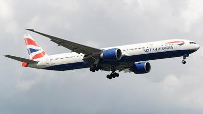A picture of GSTBB - Boeing 77736N(ER) - British Airways - © Tek