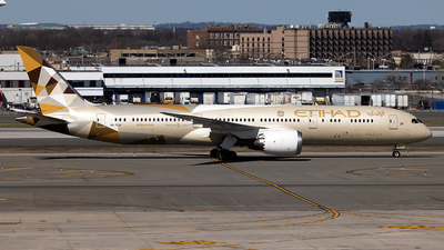 A picture of A6BLA - Boeing 7879 Dreamliner - Etihad Airways - © JinZi