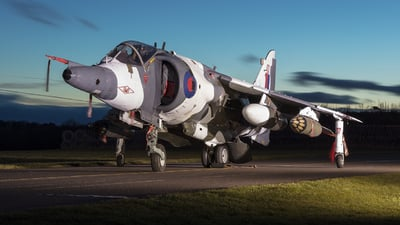 XZ991 - Hawker Siddeley Harrier GR.3 - United Kingdom - Royal Air Force (RAF)