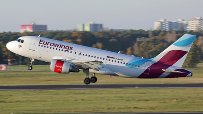 D-ABGO - Airbus A319-112 - Eurowings