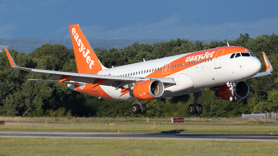 A picture of HBJXN - Airbus A320214 - easyJet - © Sandra