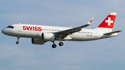A picture of HBJDB - Airbus A320271N - Swiss - © Finnographie