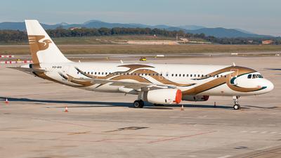 VQ-BIS - Airbus A320-232(CJ) Prestige - Meridian Air