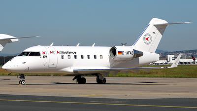 D-AFAB - Bombardier CL-600-2B16 Challenger 604 - FAI Flight-Ambulance