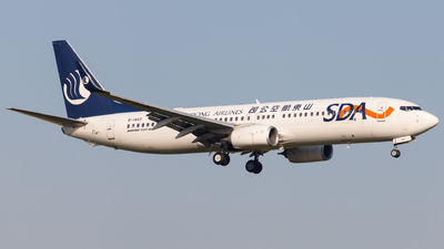 A picture of B1443 - Boeing 73785N - Shandong Airlines - © H.C.