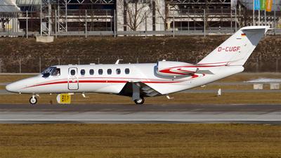 D-CUGF - Cessna 525B CitationJet 3+ - Stuttgarter Flugdienst (SFD)