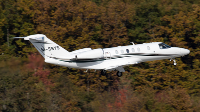 M-SSYS - Cessna 525C CitationJet 4 - Private