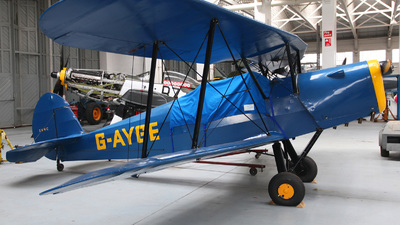 G-AYGE - SNCAN/Stampe SV.4C - Private