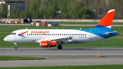A picture of RA89120 - Sukhoi Superjet 10095B - Azimuth - © Ivan Goreza