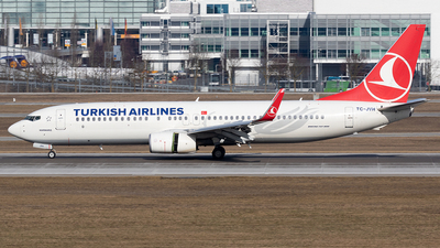 TC-JVH - Boeing 737-8F2 - Turkish Airlines