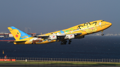 JA8957 - Boeing 747-481D - All Nippon Airways (ANA)