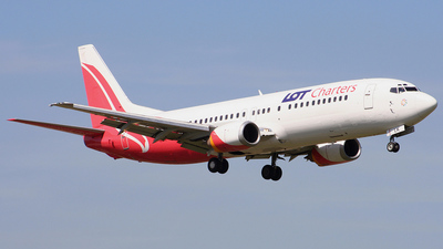 SP-LLK - Boeing 737-4Q8 - LOT Charters