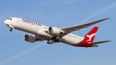 A picture of VHZNF - Boeing 7879 Dreamliner - Qantas - © Justin Stöckel