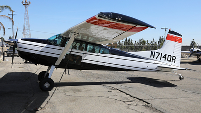 N714QR - Cessna A185F Skywagon - Private