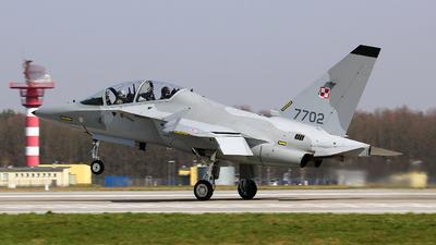 7702 - Alenia Aermacchi T-346A - Poland - Air Force