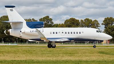 LV-GQK - Dassault Falcon 900EX - Private