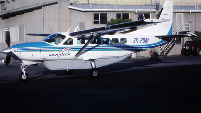 ZK-PDM - Cessna 208 Caravan - Sounds Air