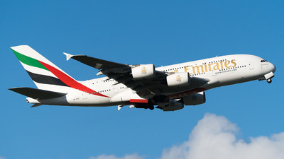 A6-EVC - Airbus A380-842 - Emirates