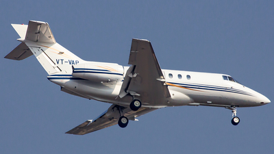 VT-VAP - Hawker Beechcraft 800XP - Private
