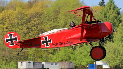 OK-UAA90 - Fokker DR.1 - Private