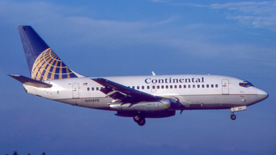 N408PE - Boeing 737-130 - Continental Airlines