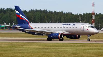 RA-89022 - Sukhoi Superjet 100-95B - Aeroflot