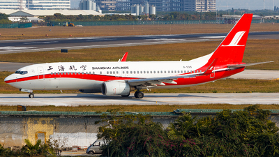 A picture of B5315 - Boeing 73786D - Shanghai Airlines - © Aaron_ZSAM