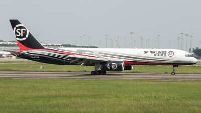 A picture of B6150 - Boeing 75725F(PCF) - SF Airlines - © sam fu