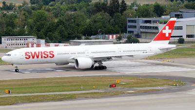 A picture of HBJNF - Boeing 7773DE(ER) - Swiss - © Gabriele Fontana - Tuscan Aviation