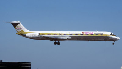 9Y-THQ - McDonnell Douglas MD-83 - BWIA West Indies Airways